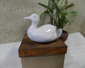 Small duck figurine
