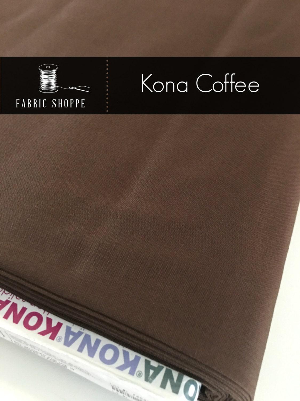 Kona cotton solid quilt fabric, Kona COFFEE 1083, Brown fabric ... : solid quilting fabric - Adamdwight.com