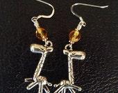 Baby Giraffe Sterling Silver Earrings