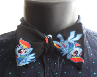 Rainbow Dash Self-Tie Bow Tie