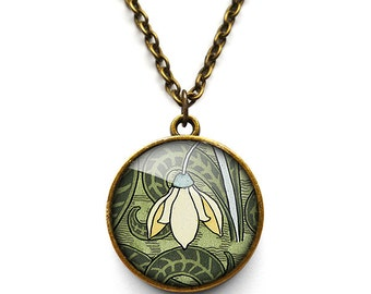 Snowdrop Necklace (AN05)