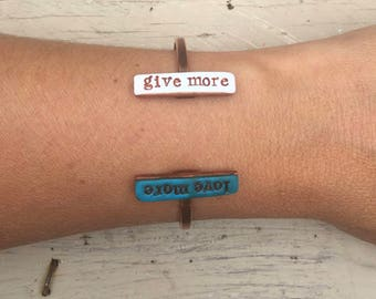 give more | love more