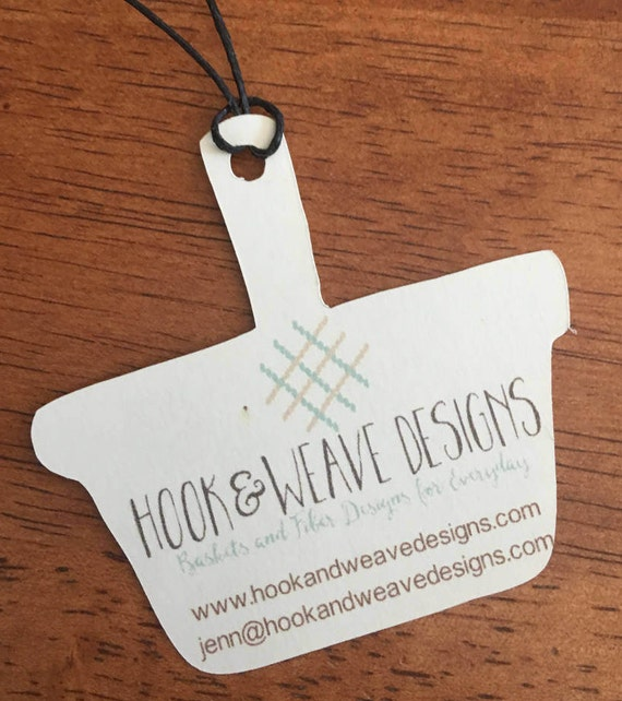 Personalized product tags hang tags for crafts handmade by for Custom tags for crafts