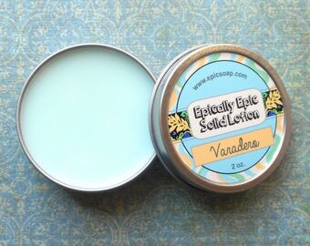 Varadero Beach Many Purpose Solid Lotion - White lily, saltwater, verbena, clean laundry