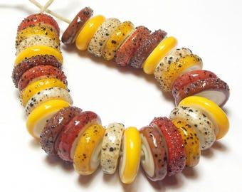Quinlan Glass Sedona Handmade Lampwork Glass Beads