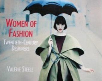 Women of Fashion, 20th century Designers, Steele, Designer Fashion Book, Design Book, Art Book, Costume History book