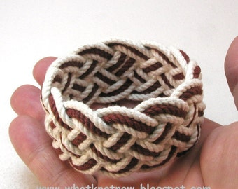 marsala red rope bracelet turks head knot sailor bracelet cotton nautical rope work rope jewelry 3507