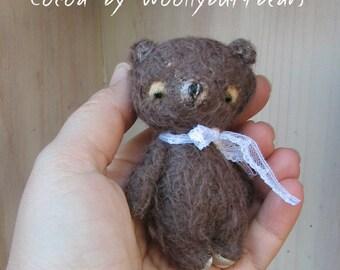 Cocoa the Bear by Woollybuttbears