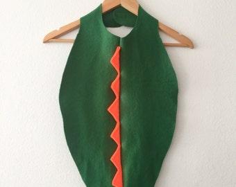 Green Dinosaur Cape, Toddler Halloween Costume, Toddler Cape