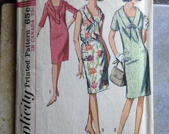 Simplicity 5986 Size 14 1/2 Woman's Misses' Dress Pattern