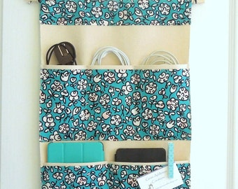 Cable, Cord and Tablet Accessory Hanging Organizer