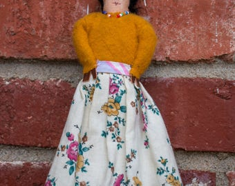 Vintage Tourist Indian Doll