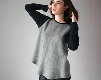 Luxury Sweater / Knit Sweater / Cotton Sweater / Oversized Sweater / Casual Sweater / Cozy Sweater / Long Sleeve Sweater / Luxury Sweater