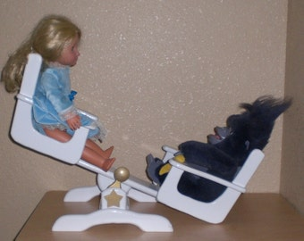 Teeter Totter for American Girl size doll by Judy Illi Crafts