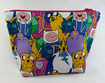 POUCH- Adventure Time **handmade**
