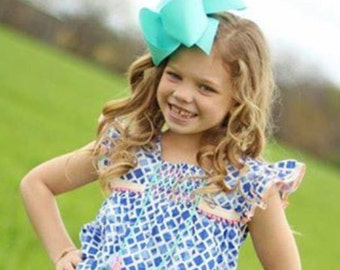 """Pick 5 - Ultimate Supreme 3"""" Ribbon Spring Easter ~ Texas Size 6 inch Bow - Spring Easter m2m Matilda Jane Once Upon a Time Adventure Begins"""