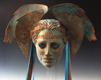 Verdigrised Aegean Goddess