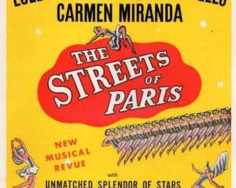 1939 ABBOTT & COSTELLO Memorabilia in Broadway Playbill