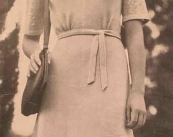 1940's vintage knitting pattern