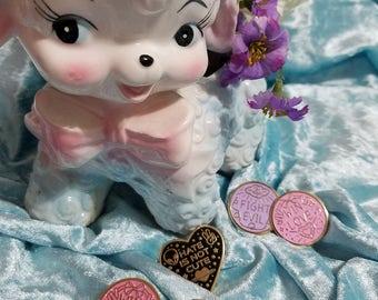 CHARITY Enamel Pins - Kawaii Sailor Moon Inspired and Uchuu-Kei Designs