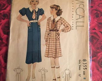 40's Vintage McCall Sewing Pattern
