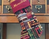 Books Stocking (Personalized)