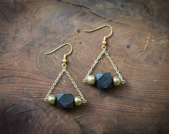 Deco Geometry Earrings