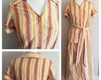 Tumbleweeds From The West Phoenix, Arizona // Skirt and Top // Western Vintage Set