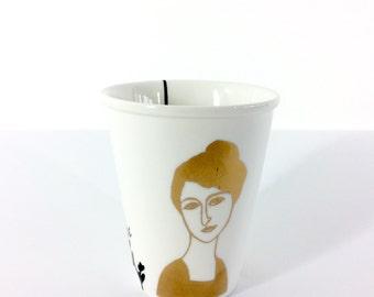 Mug printed with Belle Dame Helene