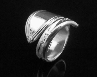 Floral Spoon Ring, Rosemary 1919