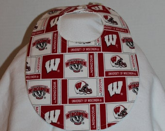 Wisconsin Cotton / Terry Cloth Bib