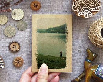 Nature Notebook 23 - Sun Moon Lake  Pocket Travel Mini Journal For Your Daily Inspiration