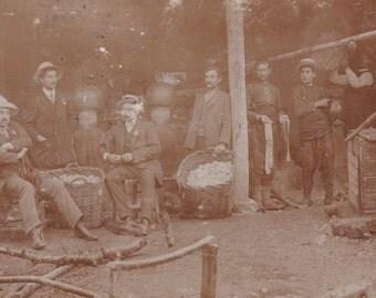 The Distillation of Roses, Bulgarian RPPC, circa 1910s