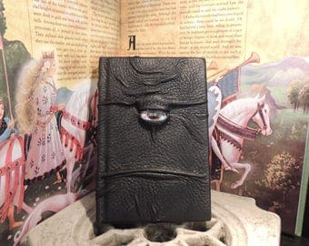 Journal---Mythical Beast Book (The Watchful Eye-Black  with Multi-Color eye)