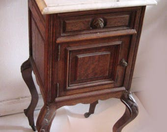 antique french night table