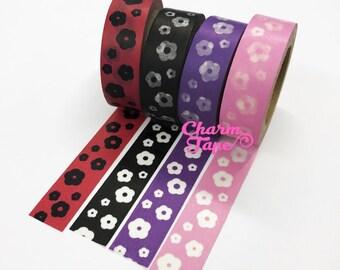 Flowers Washi Masking Tape 15mm WT5