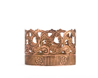 Crown Cake Topper, Rose Gold Crown, Mini Crown