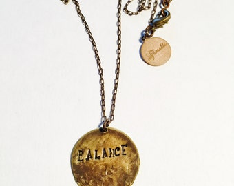 Balance Affirmation Necklace
