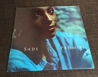Vintage Original 1985 SADE Promise US 1st Pressing LP Album Record Vinyl Near Mint 1985