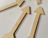 Unfinished Wood,Wood,Wood Arrow,Supplies,Natural,Craft,Craft Supplies,Wooden Cutout,Wall Decor,Unfinished Shapes, Wooden Arrow,Paintable,Art