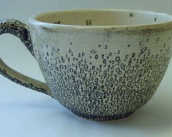 Large Binary Soup or Noodle Mug