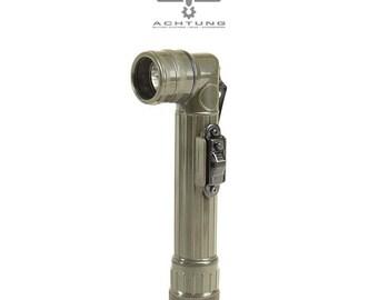 Military Vintage Anglehead Flashlight