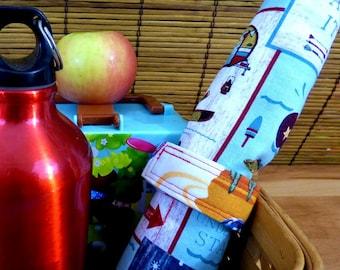Road Trip Adventure Zero Waste Roll Up Children's Placemat Set