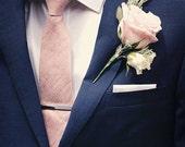 Herren traditionelle Krawatte Seide erröten