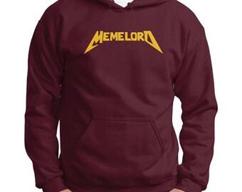MEMELORD (Gold or Silver) Gildan Hoodie