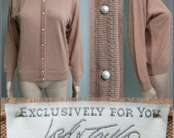 Vintage 1950's Sweater// Lord & Taylor//50s Cardigan//50s Sweater//