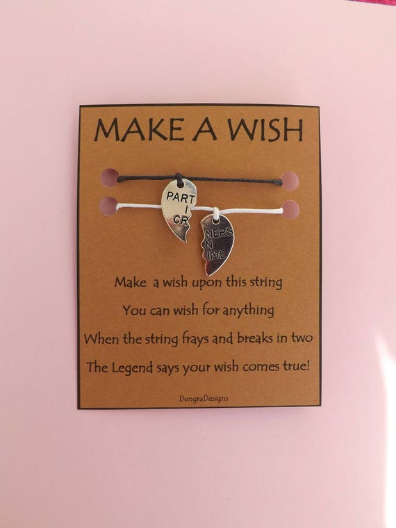 Partners in Crime Double Wish String