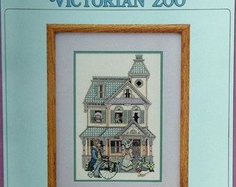 50%OFF Victorians Across America VICTORIAN ZOO By Debbie Patrick - Counted Cross Stitch Pattern Chart