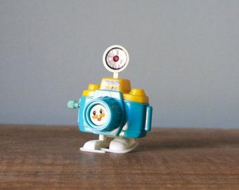 Wind Up Walking Camera Toy Made in Hong Kong