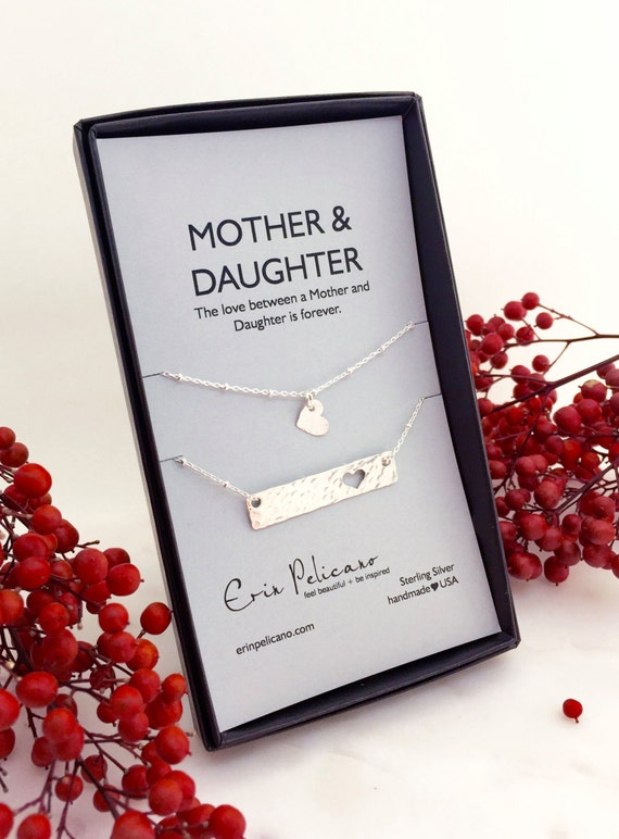 Christmas For Mom Necklace Gift Mother Daughter By